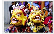 Chaam Dances - Hemis Monaster